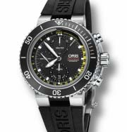 774 7708 4154-Set RS Ručni sat ORIS Aquis Depth Gauge Chrono